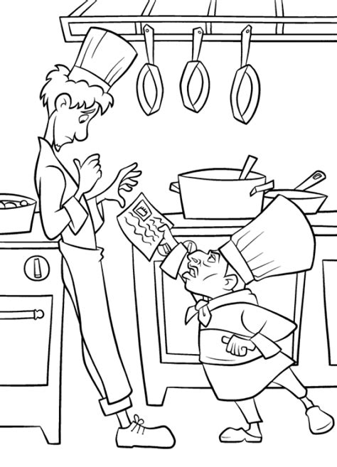 coloring page ratatouille coloring pages 9