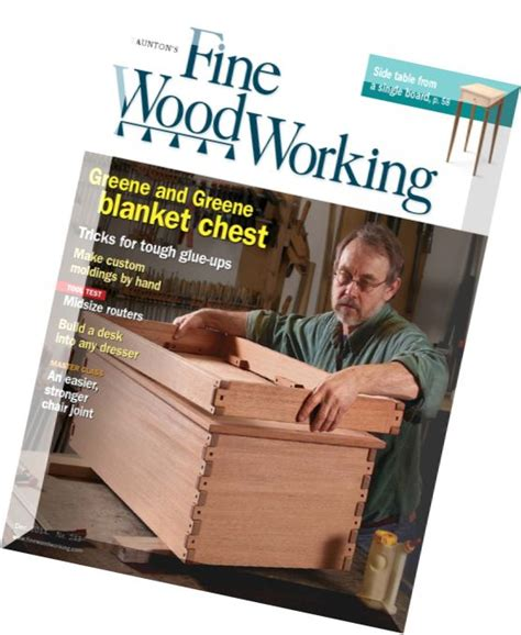 fine woodworking issue  november december