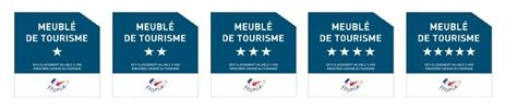 classement meubl 233 s de tourisme etoiles de