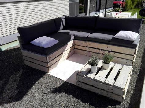 diy lounge sofa diy pallet lounge furniture set 101 pallet ideas