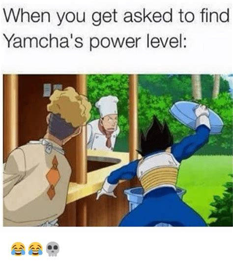 How To Find Memes - when you get asked to find yamcha s power level
