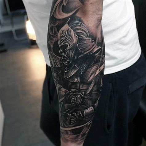 Tattoo Aufkleber Männer by Herren Arm Tattoo Style Colored Gas Mask Tattoo On