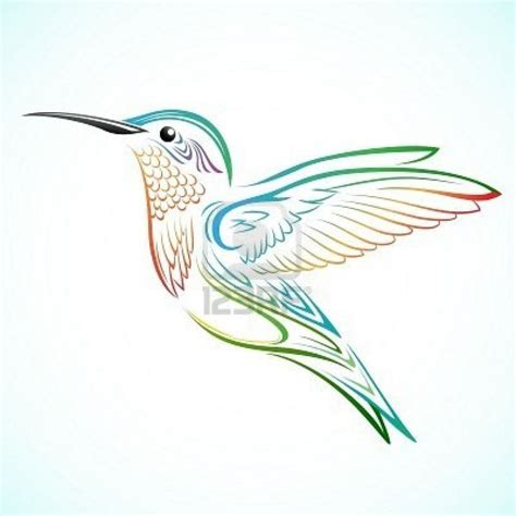 tribal hummingbird tattoo meaning hummingbird with
