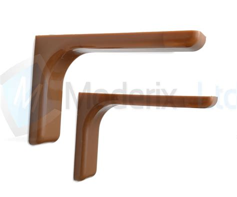 Concealed Shelf Fixings by Shelf Support Brackets With Covers 120mm Invisible