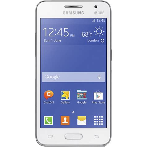 samsung galaxy 2 duos sm g355 4gb smartphone sm g355m wht