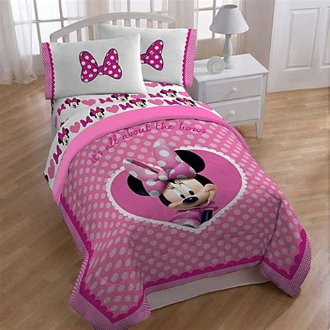 minnie mouse bedding disney 174 minnie bedding and accessories bed bath beyond