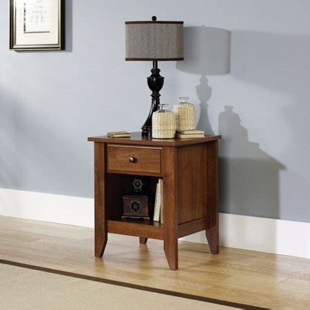 Sauder Shoal Creek Nightstand sauder shoal creek collection nightstand oak
