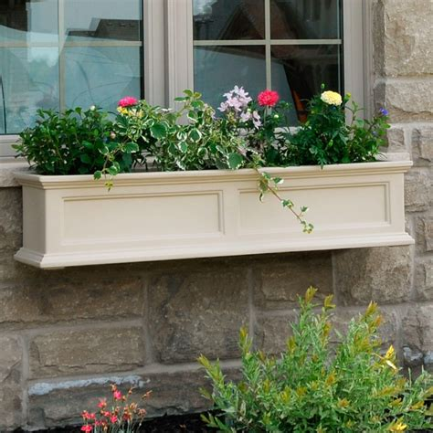 outdoor window box fairfield window box or freestanding planter planters