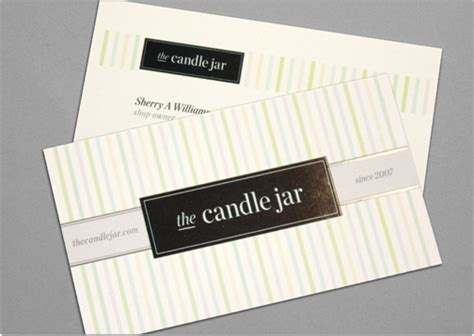 candle business cards templates business card template toi design candle jar