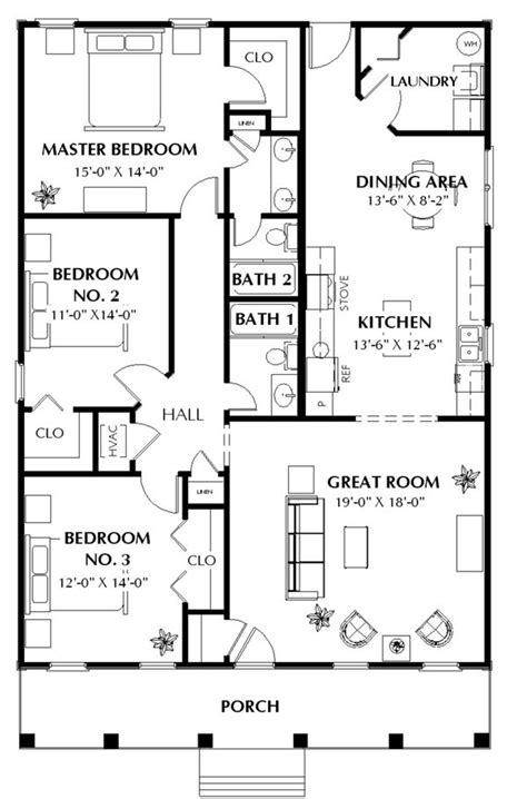 ranch house plans 1500 sq ft house plans from 1500