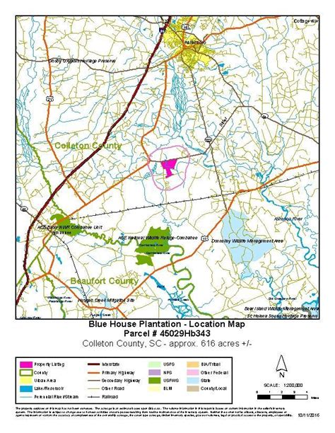 Colleton County Property Records 608 43 Acres In Colleton County South Carolina