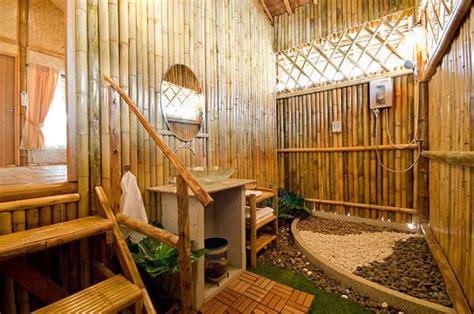 design interior cafe dari bambu perabot bambu ini membuat rumah kita lebih ramah