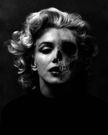 10 Marilyn Monroe skull posters