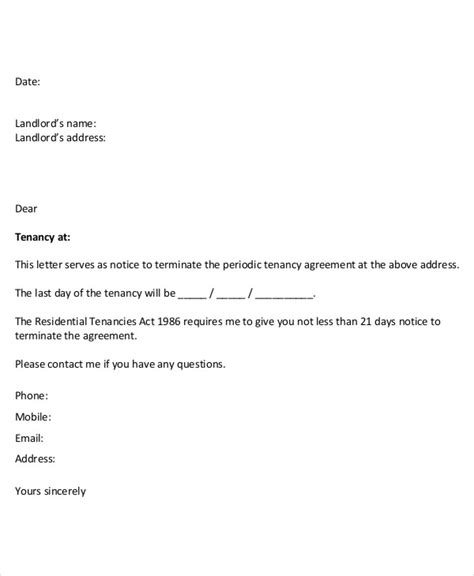 Cancellation Letter Mobile Phone Contract how to write a termination letter for cell phone contract