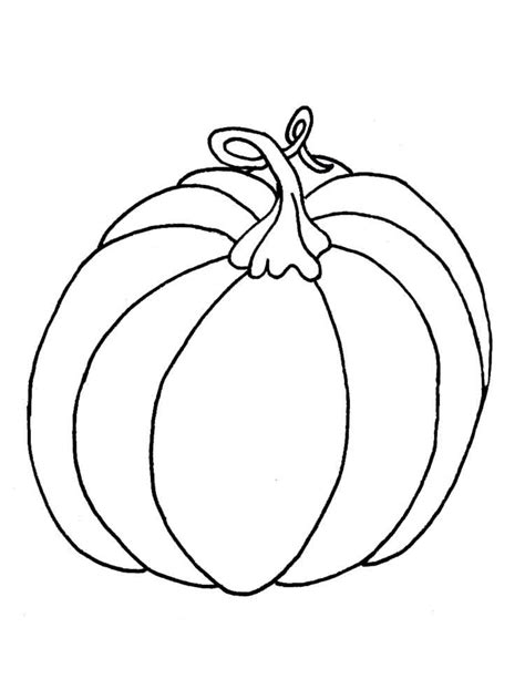 91 Coloring Page Pumpkin Pumpkins Coloring Pages 5 Pumpkins Coloring Page