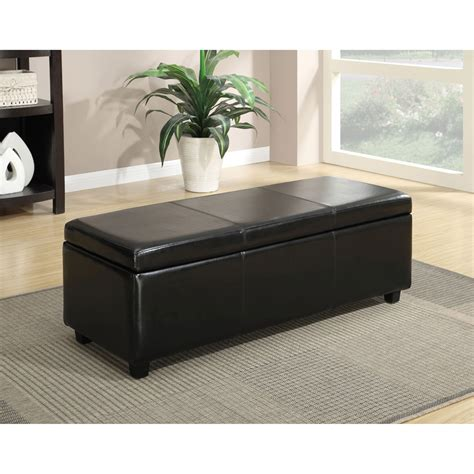 colored leather ottoman colored leather storage ottoman fabric covered