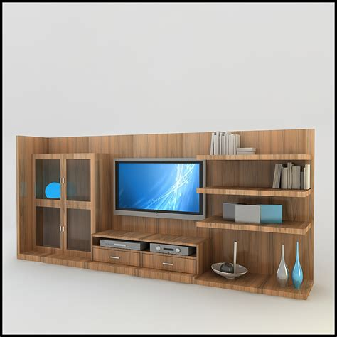 modern wall units 3d tv wall unit