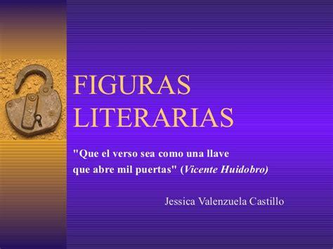 imagenes figura literaria ejemplos figuras literarias