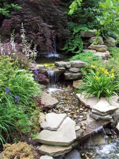 Waterfall Landscaping Ideas Waterfall Design Image Home Staging Accessories 2014