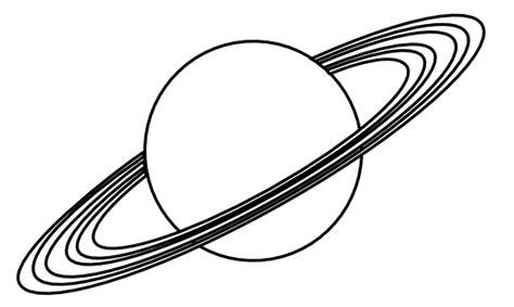 planet saturn coloring sheets planet clipart black and white clipart panda free