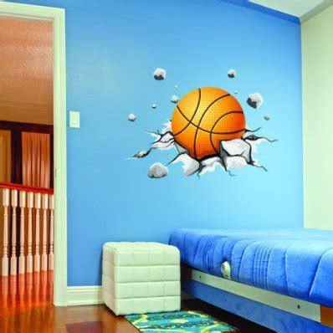 Wall Sticker Uk 50x70 Aneka Transportasi wallstickers folies basketball wall stickers