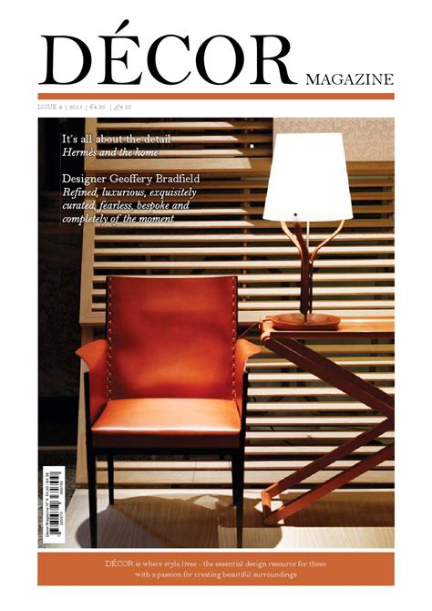 Modern Home Decor Magazines Issuu Decor Magazine 4 Issuu By Simply Media