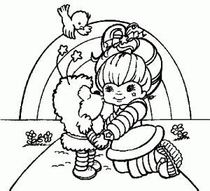 hallmark coloring pages halloween 258 best rainbow brite images on pinterest rainbow brite