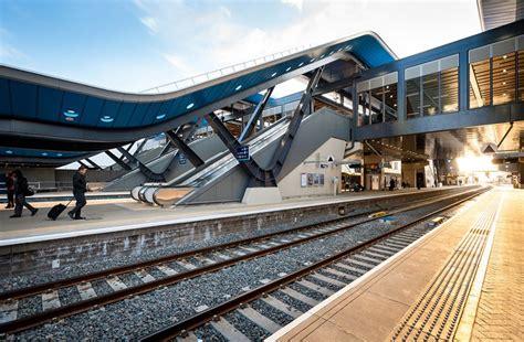 grimshaw architects reading station phase  open