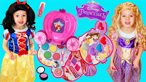 Makeup Kit Makeover disney princess dress up makeover using a rapunzel