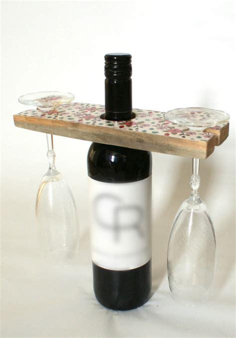 pattern for wine bottle holder items similar to wine glass holder wine rack reclaimed