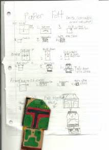How To Make A Origami Yoda Finger Puppet - sf jordan s boba fett with instrux origamiyoda