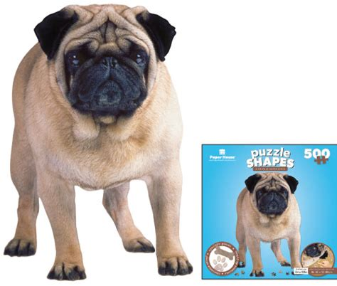 3d pug puzzle pug jigsaw puzzles and toys for puzzlewarehouse