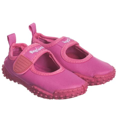 bright pink sneakers playshoes bright pink aqua shoes childrensalon