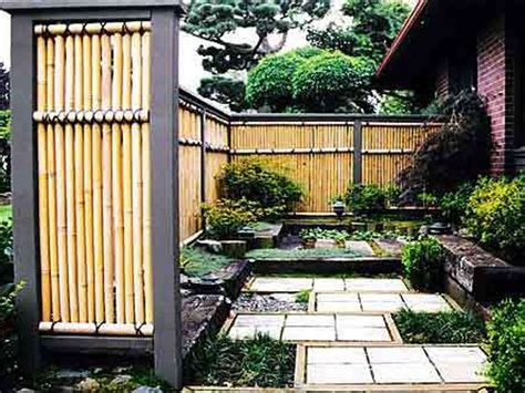 patio fence ideas bamboo fencing landscaping gardening ideas