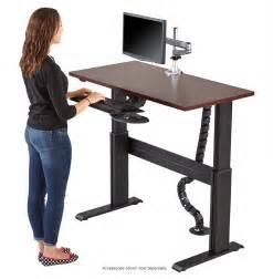 height adjustable stand up computer desk 13 inspiring