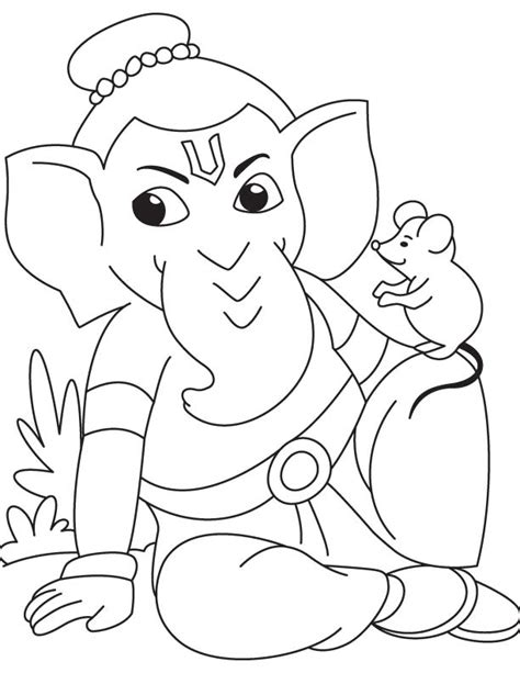 printable ganesh images free coloring pages of ganesha