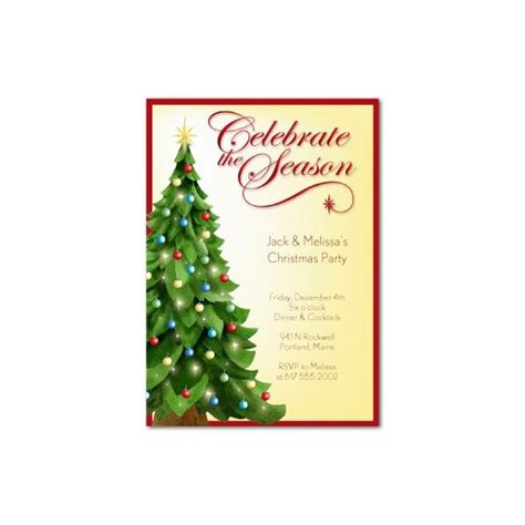 free templates for christmas dinner invitations top 10 christmas party invitations templates designs for