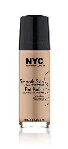 N Y C New York Color Smooth Skin Foundation Warm Beige 1 Fluid Ounce Buy In Uae