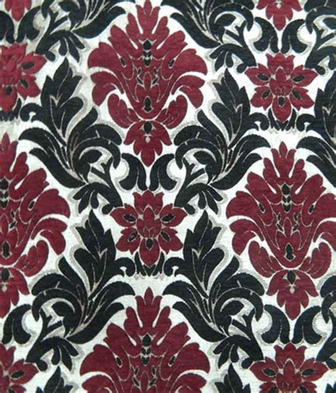 Black Damask Upholstery Fabric by Chansons Marron Black Damask Saneel Khadi Velvet Look