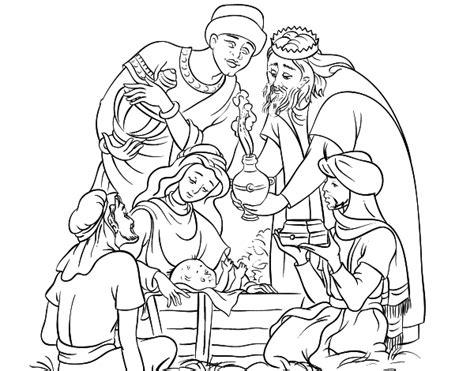 imagenes el nacimiento de jesus para colorear dibujo de nacimiento para colorear dibujos net