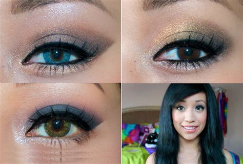 Eyeshadow Blue prom makeup for brown and blue dress www pixshark