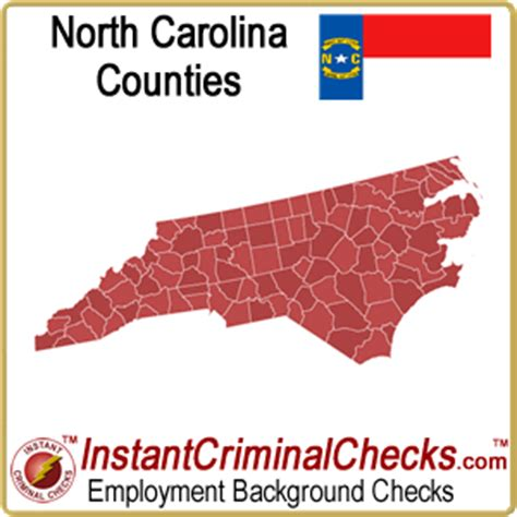 Free Nc Criminal Record Carolina County Criminal Background Checks Nc