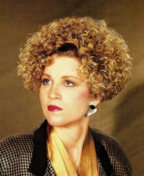 haircut short and permed in 80s salon blue perm rods style perms pinterest perm rods