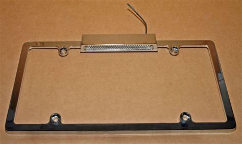 brake light license plate frame license plate lights third brake lights and frames