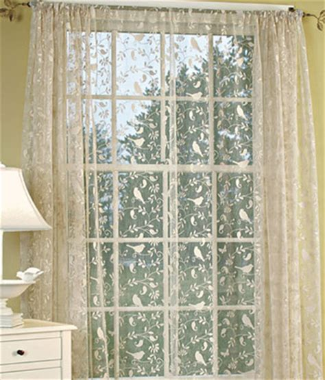 Bird Lace Curtains Affordable Buffalo Check Curtains