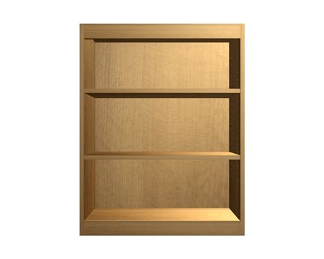 Open Wall Cabinets | open wall cabinet with wide rails