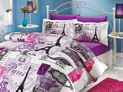 paris themed comforter sets eiffel tower bedding