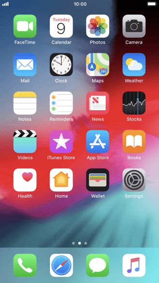 apple iphone   select network mode vodafone uk