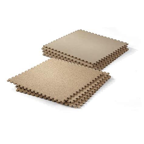 1 Foot By 1 Foot Cork Mats - 8 pk iit 18x18 cork finish mats 567222 accessories