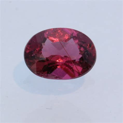 rubellite pink purple tourmaline faceted 8 215 6 oval brazil